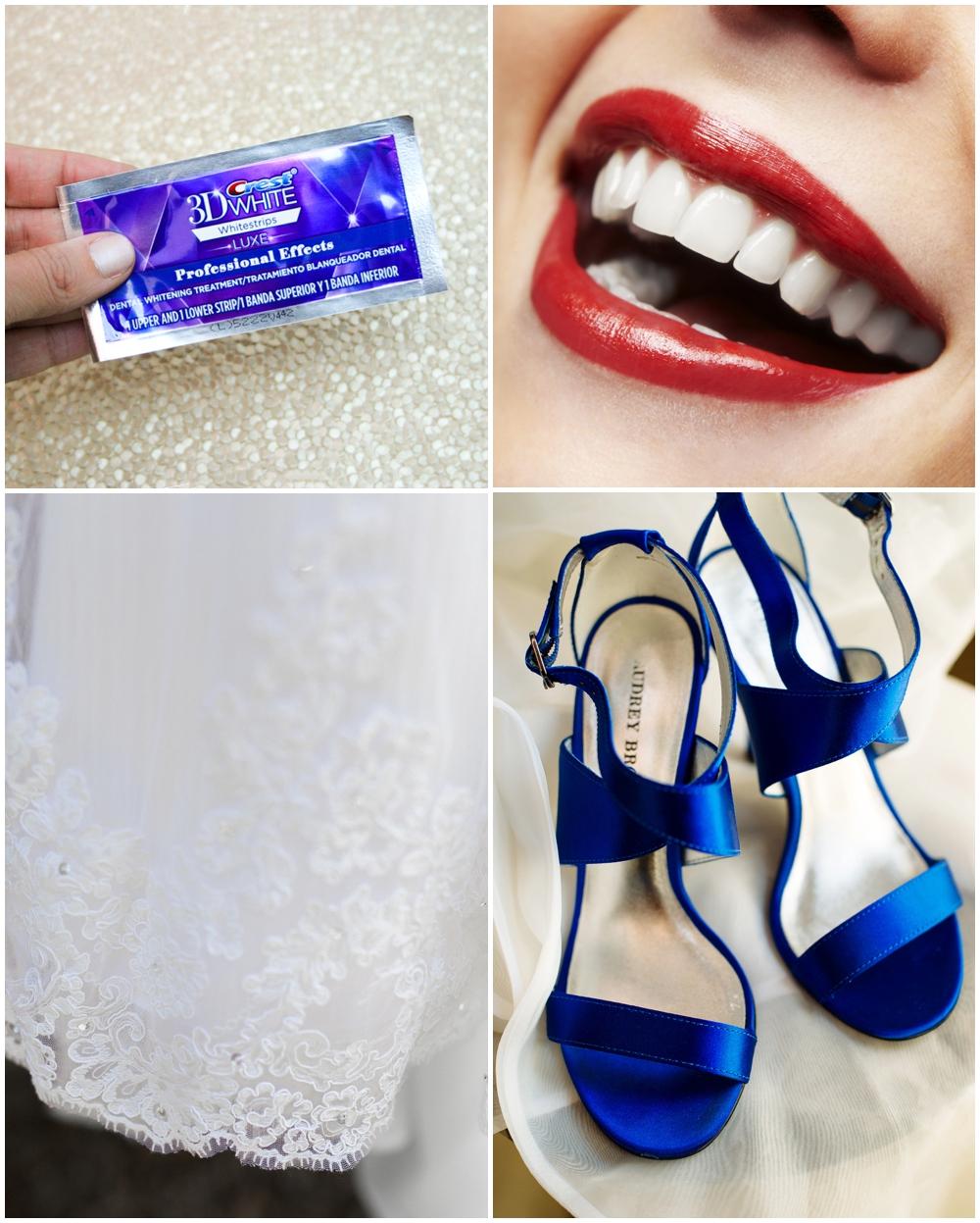 CREST 3D WHITE WHITESTRIPS FOR WEDDINGS
