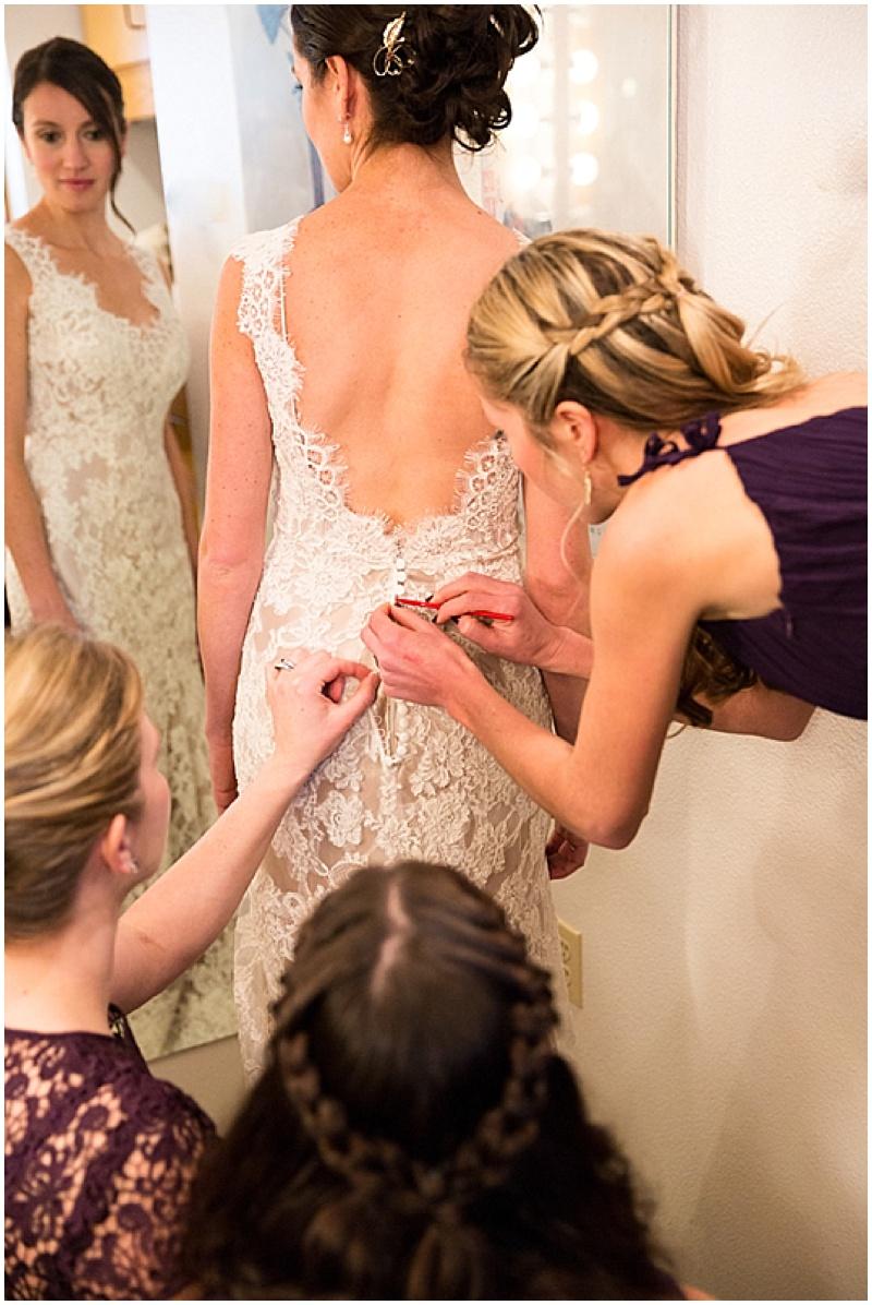 low-back wedding dress