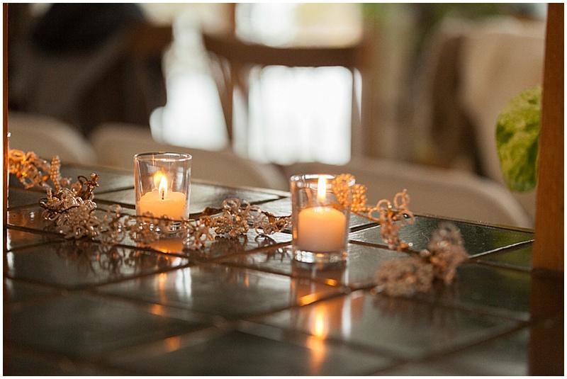 candles wedding decor