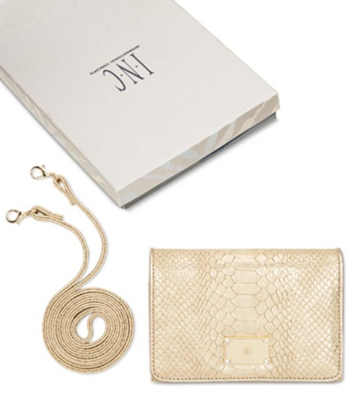 INC International Concepts Horizontal Envelope Wallet On A String