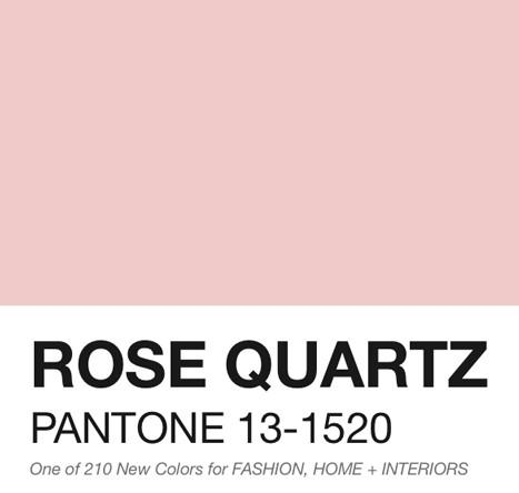 Rose Quartz - Pantone Color of the Year 2016