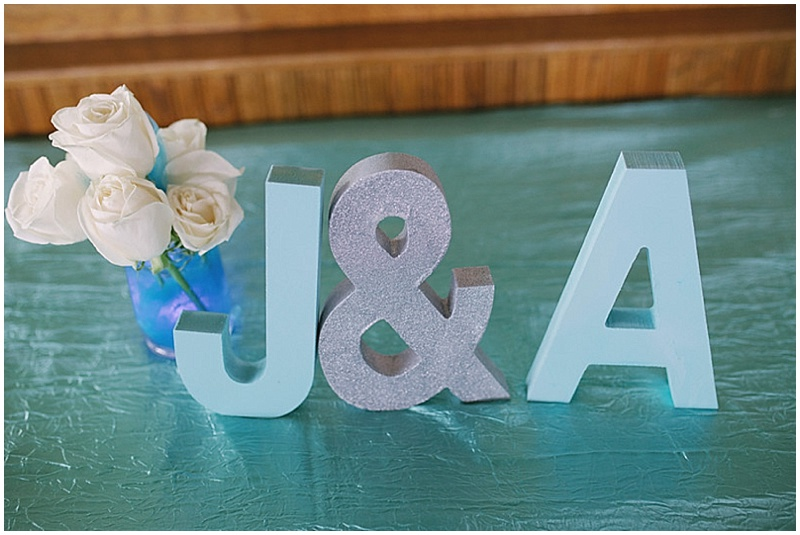 wedding intials