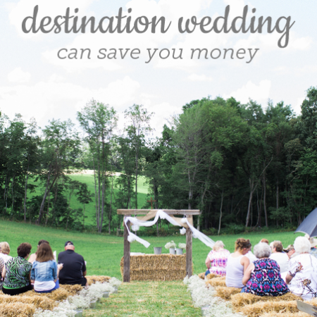 Reverse Destination Wedding