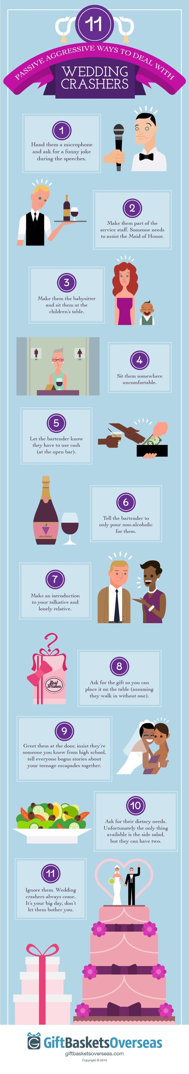 11 Ways to Deal with Wedding Crashers - Wedding Crashers - 11 Ways to Deal with Uninvited Guests
