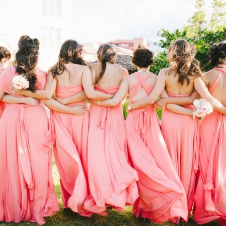 convertible bridesmaids dresses from Henkaa