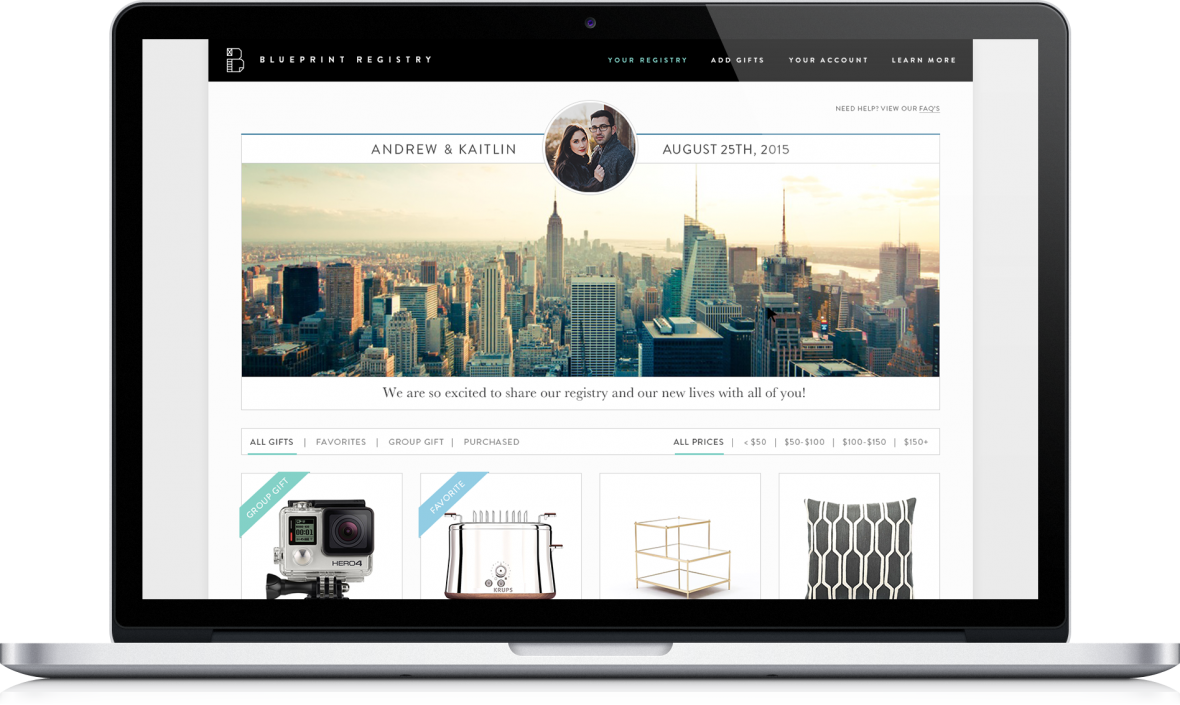 Blueprint Registry - register for everything you need for your home