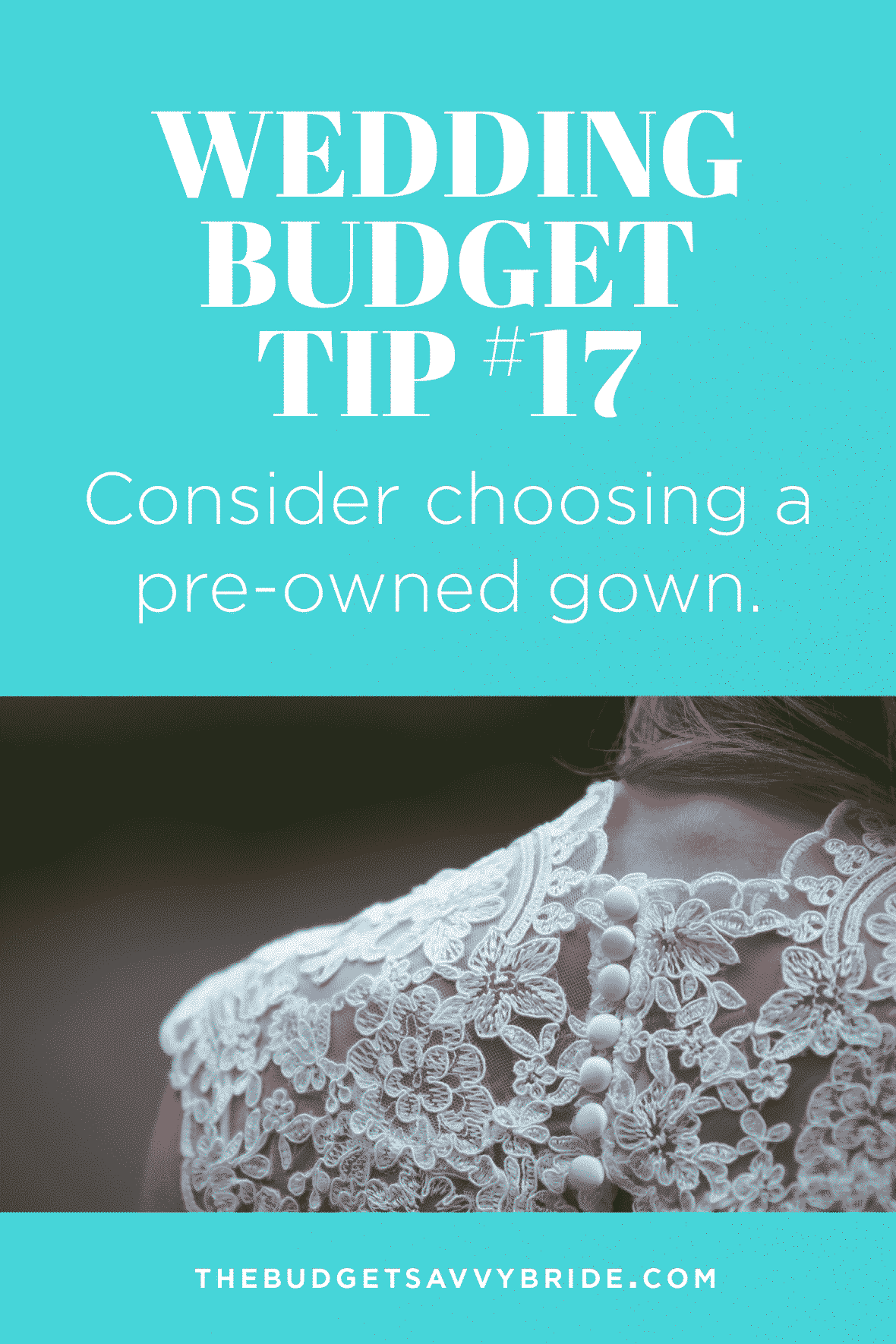 Want to save money on your wedding dress? Choose a pre-owned wedding gown!