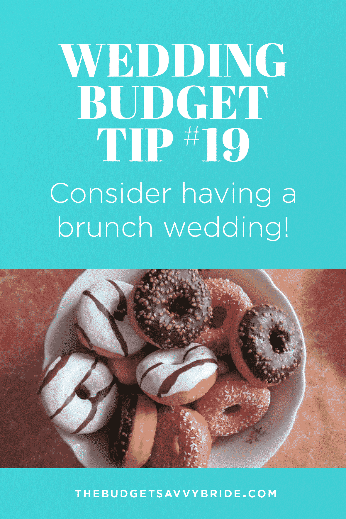 Wedding Budget Tip #19: Consider a Brunch Wedding!