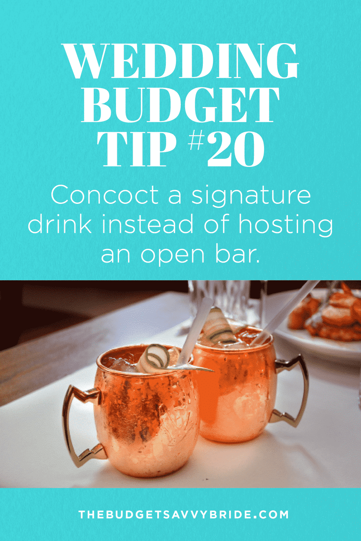 Craft a signature cocktail for your wedding to save money on your reception expenses. Don't miss this round up of some delicious cocktail recipes!