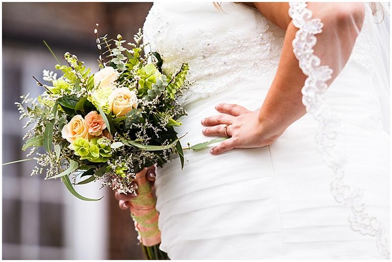 spring bridal photos