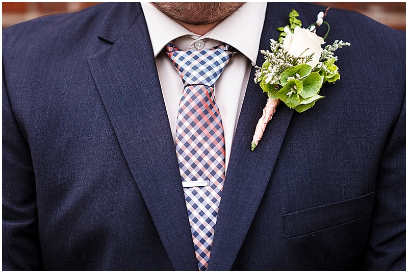 navy wedding attire