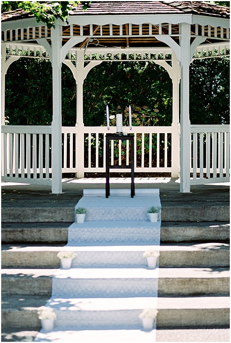 gazebo wedding venue