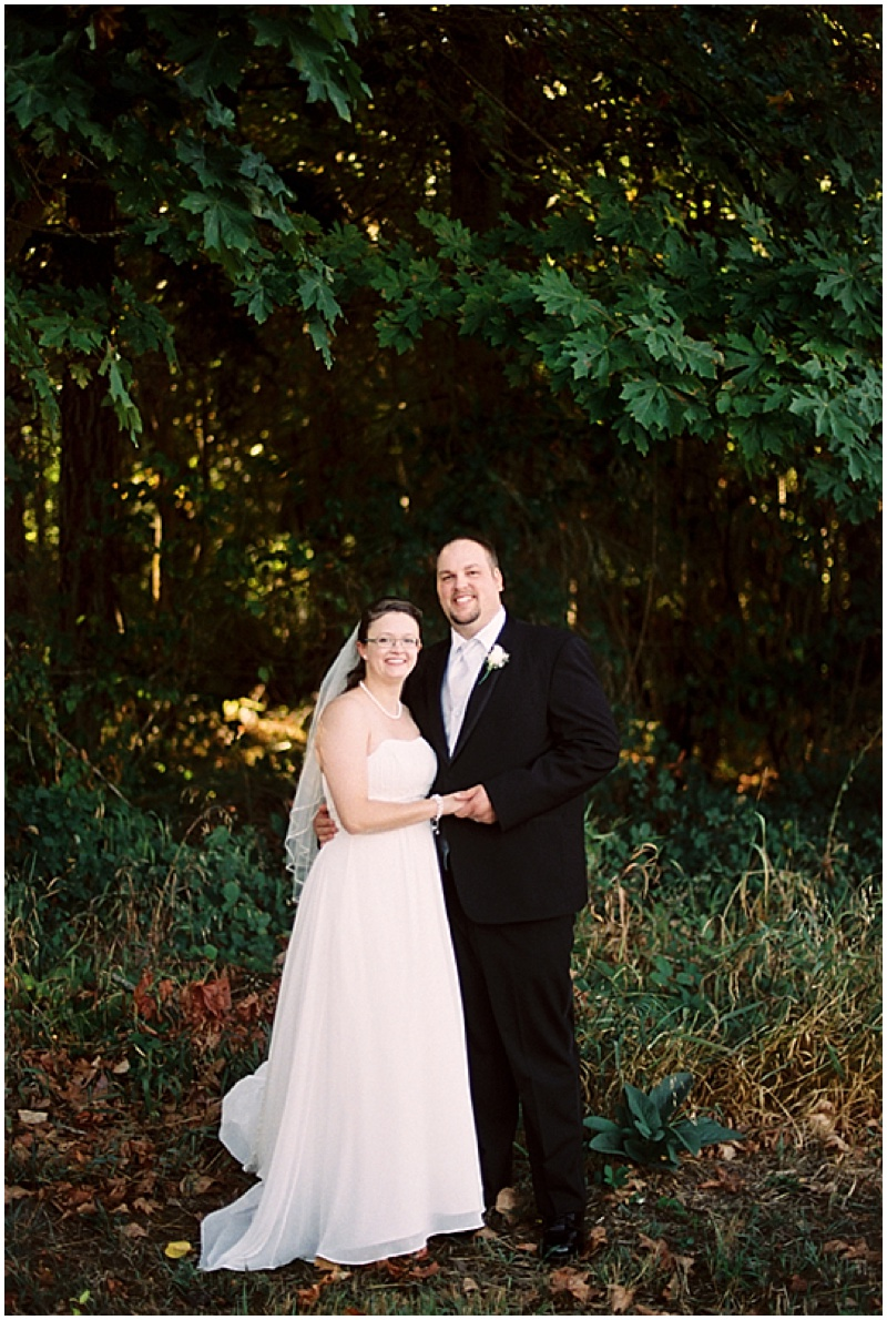 forest wedding photos