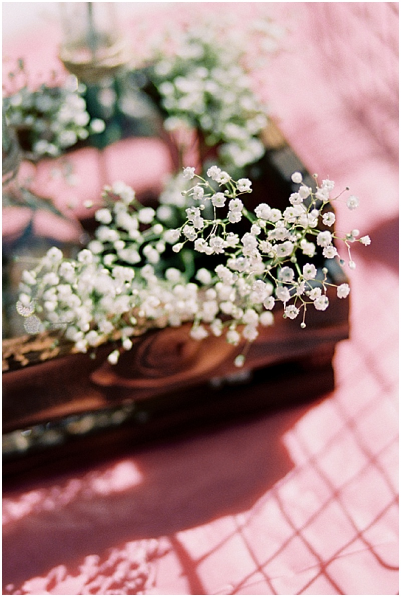 baby's breath centerpieces