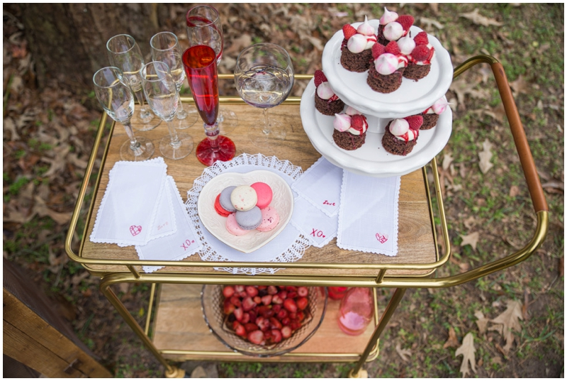 DIY Valentine's Wedding Inspiration