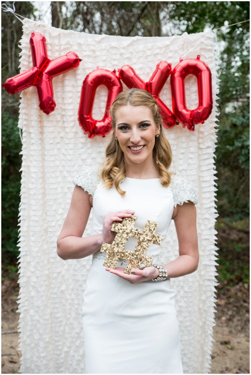 DIY Valentine's Wedding Inspiration