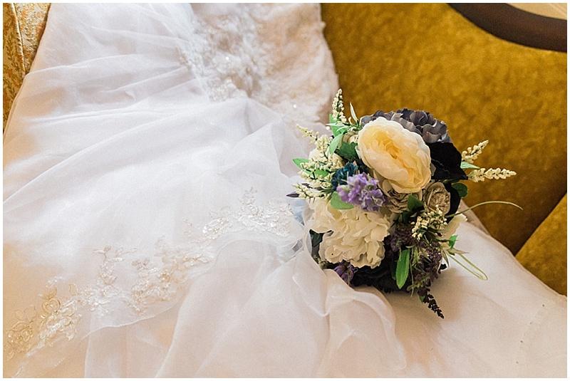 artificial wedding flowers