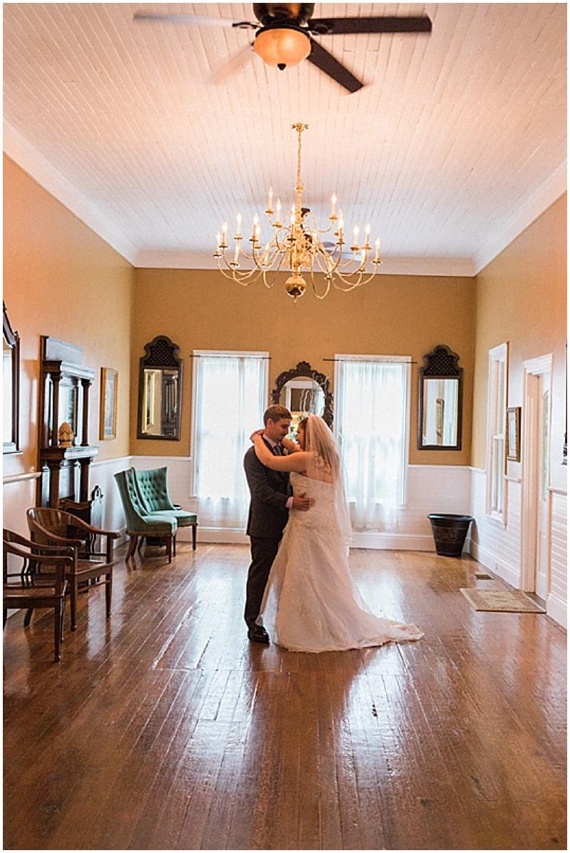 indoor wedding photos