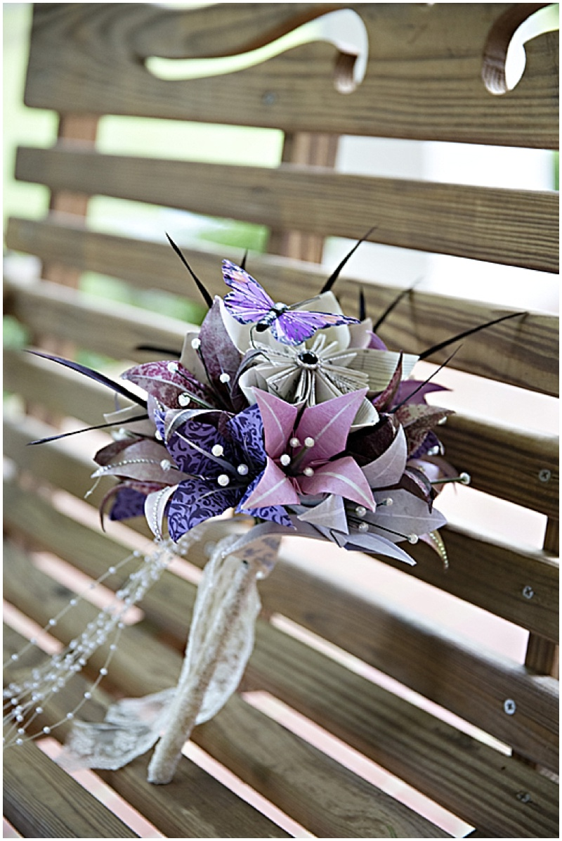 Paper Wedding Bouquet Bridesmaid