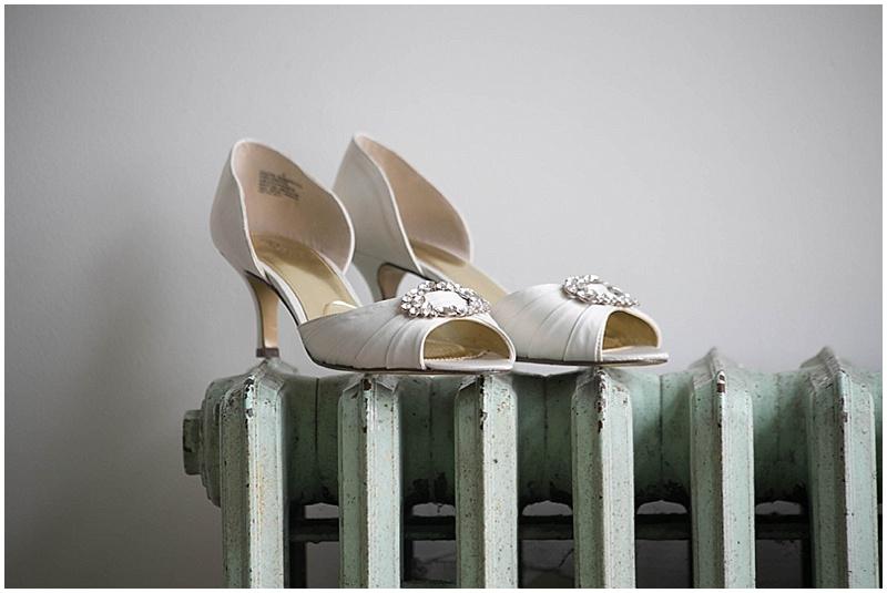 elegant wedding sandals