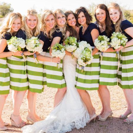 SandeeRoyalty - Bridesmaids in Skirts