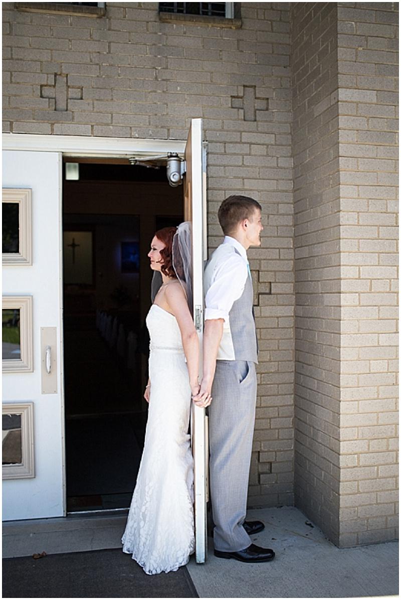 wedding no look