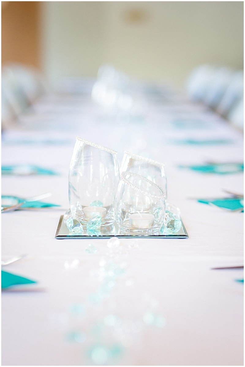 simple wedding reception decor