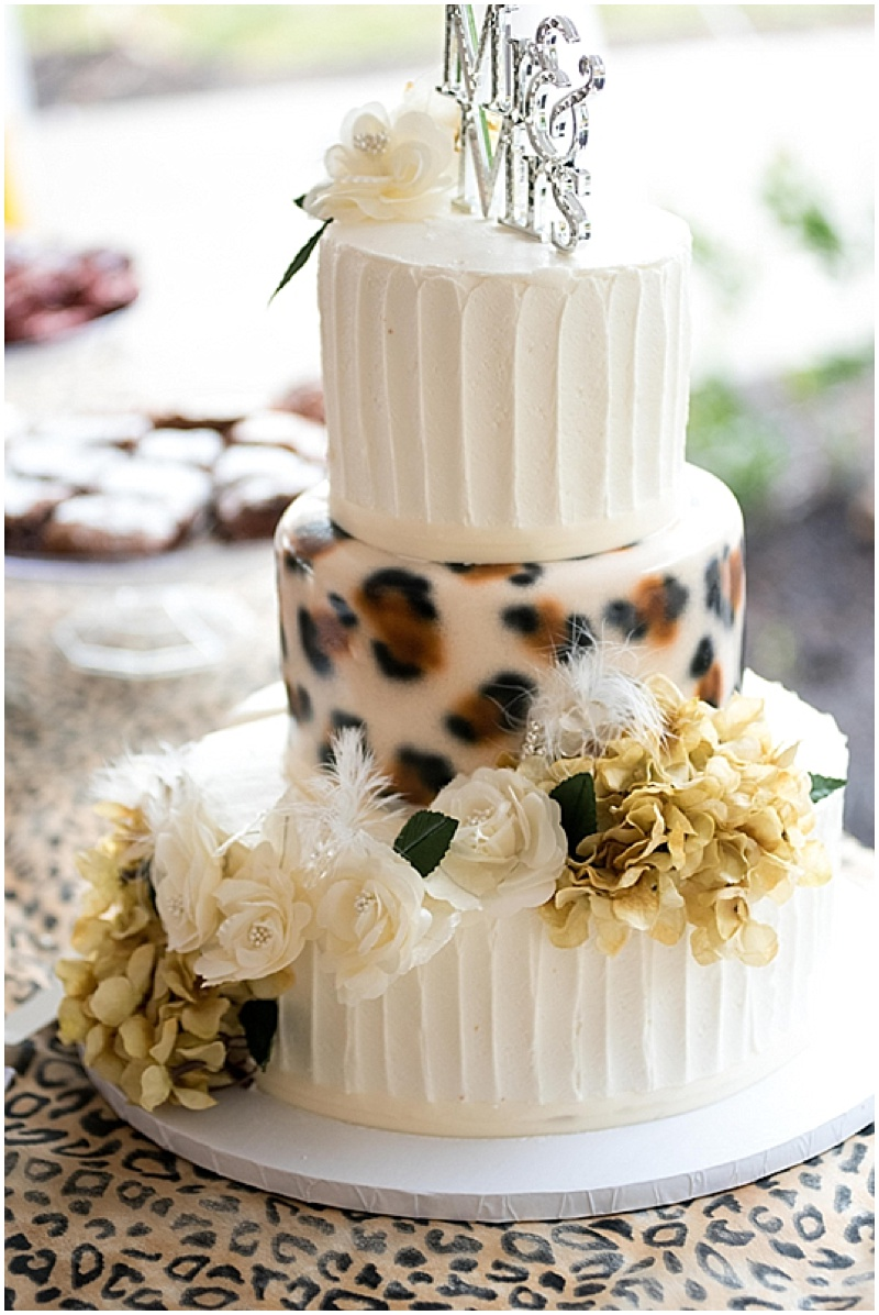 summer wedding with leopard print details the budget savvy bride