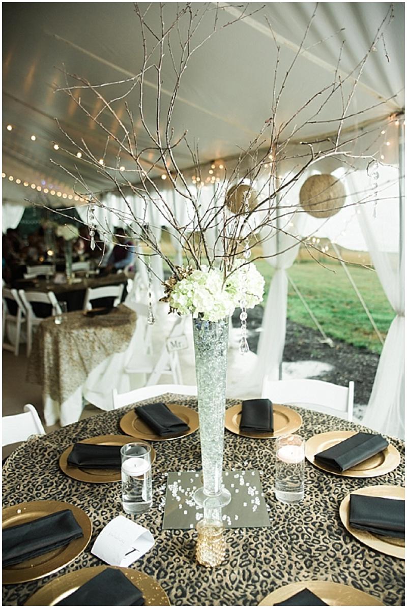 Summer wedding with leopard print details the budget savvy bride brandy jeremiah junglespirit Gallery