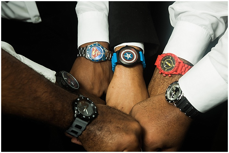groomsmen superhero watches