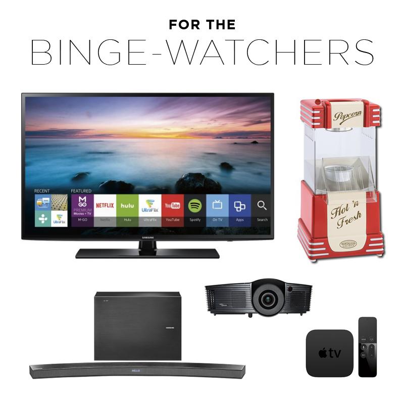 best buy wedding registry - gifts for the binge-watchers