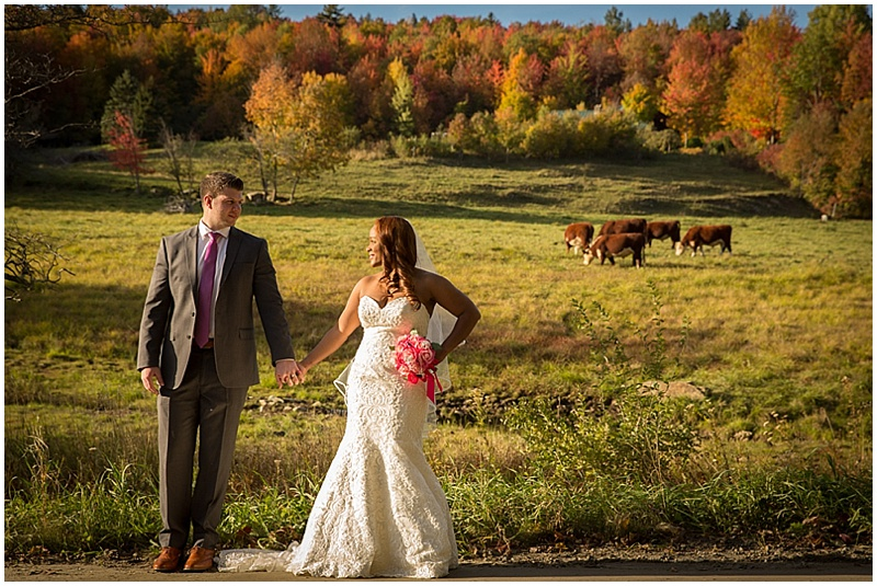 autumn wedding photos