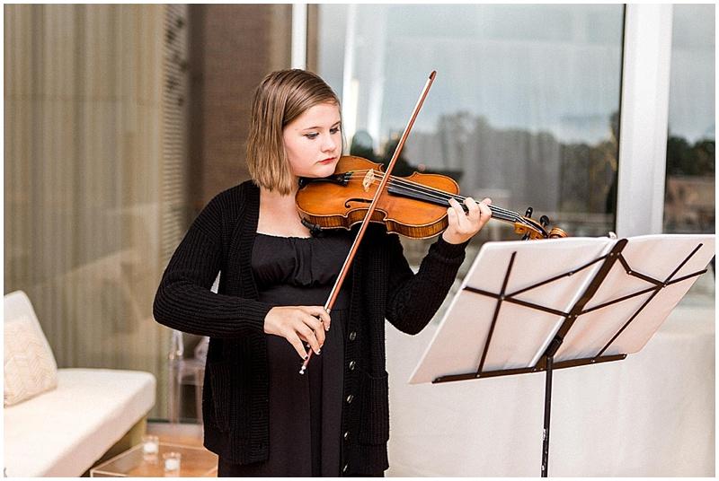 violin wedding