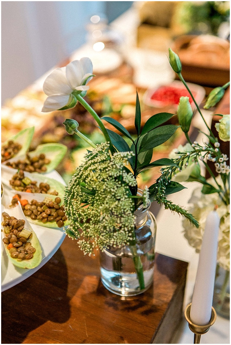hors d'oeuvres wedding reception