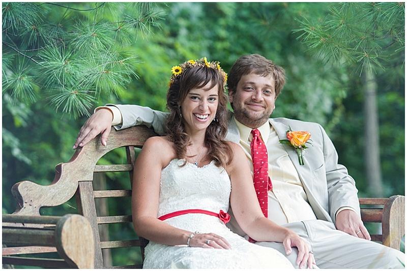garden wedding phtoos