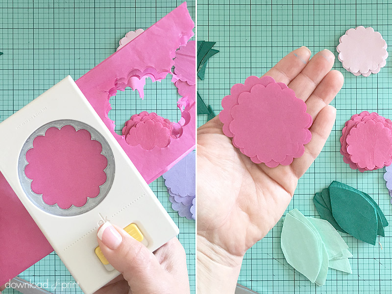 ABC TV | How To Make Rose Paper Flower With Shape Punch - Craft ... | 600x800