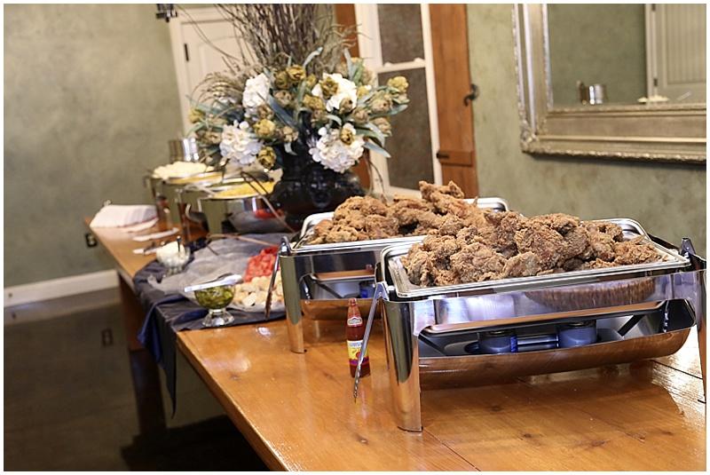 buffet style reception