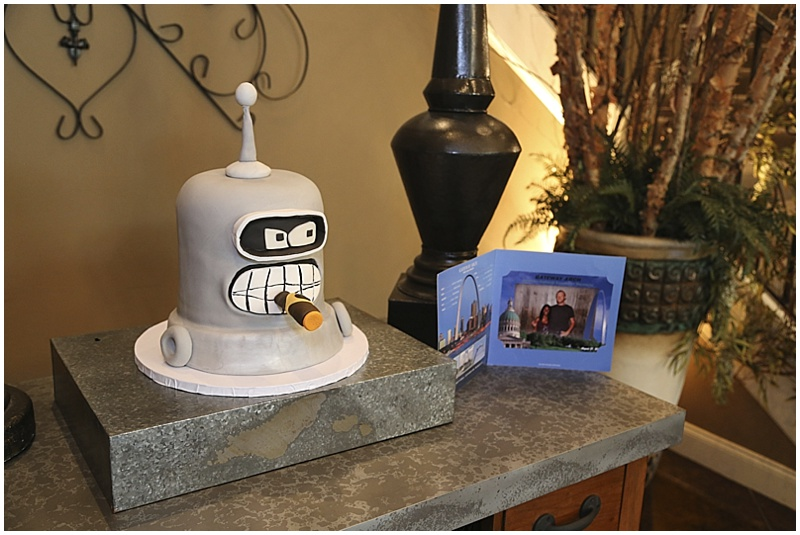 groom wedding cake