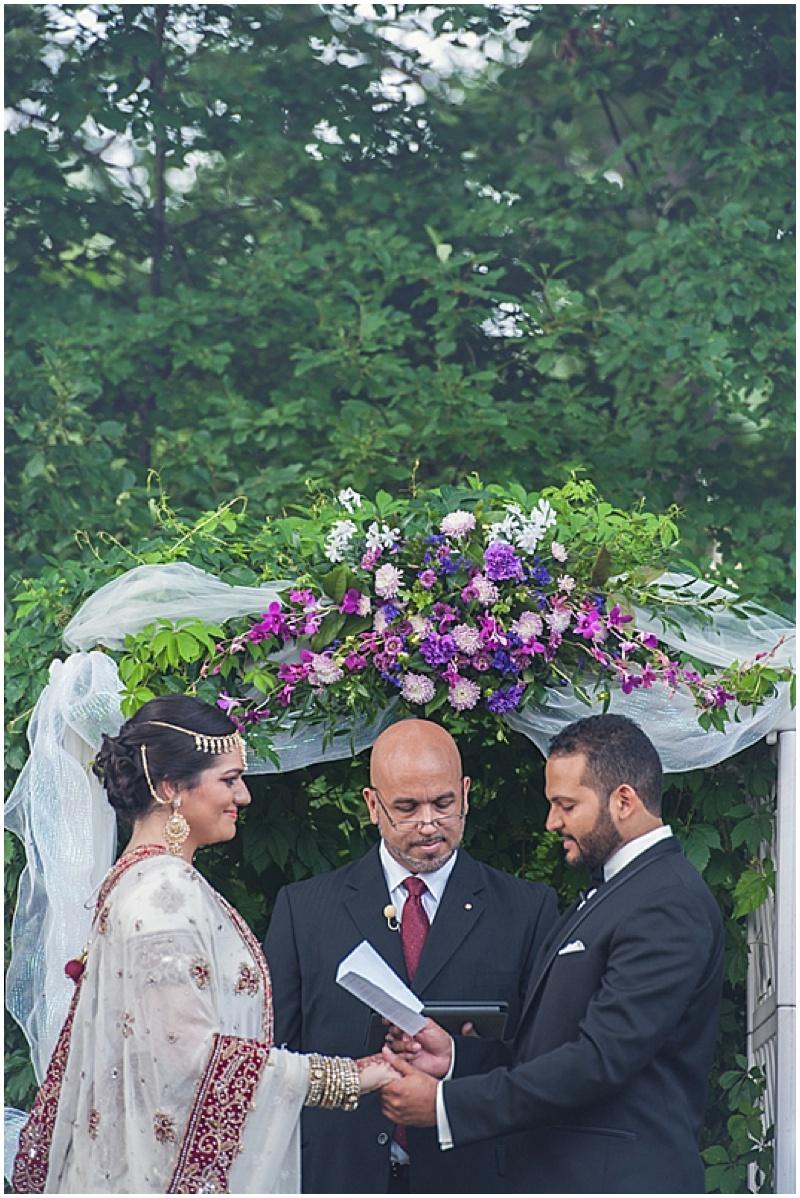 floral outdoor wedding decor