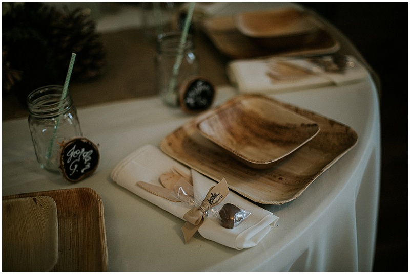 disposable wedding dishes