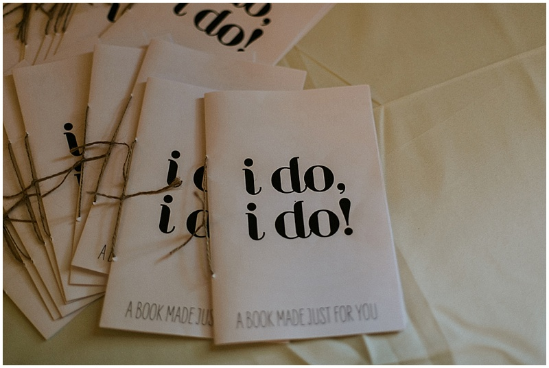 wedding activity booklet - handmade florida wedding