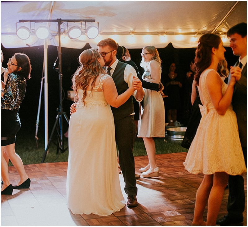 wedding dancing -handmade florida wedding