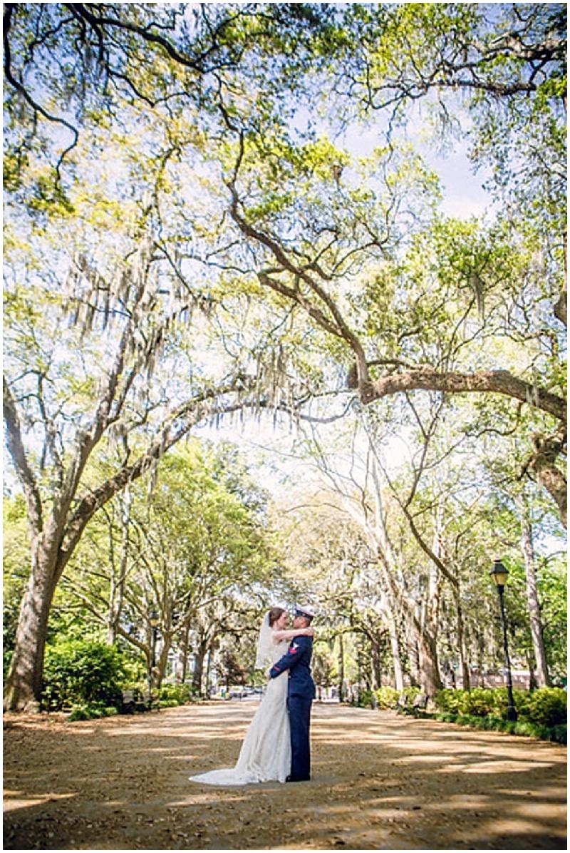 Savannah outdoor wedding photos