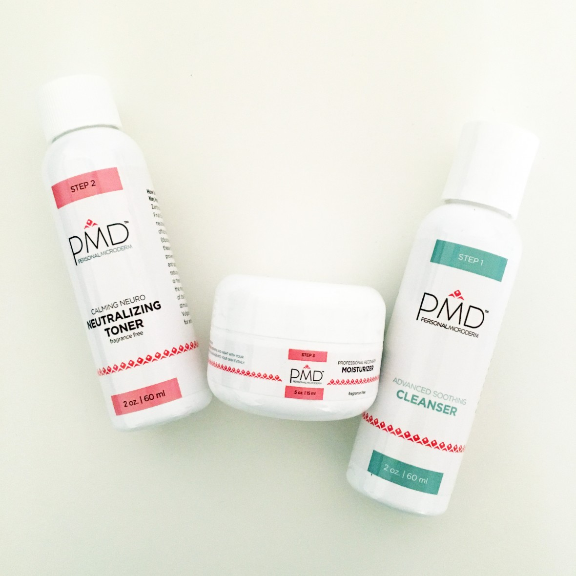 PMD facial cleanser system