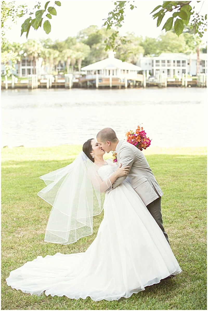 Colorful Tropical Themed Wedding | The Budget Savvy Bride