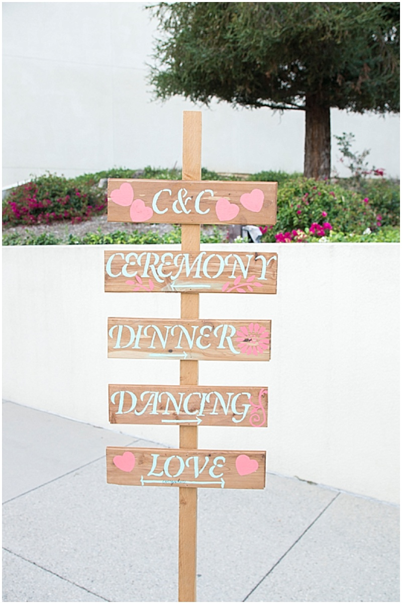 Coral and Turquoise California Wedding   The Budget Savvy Bride