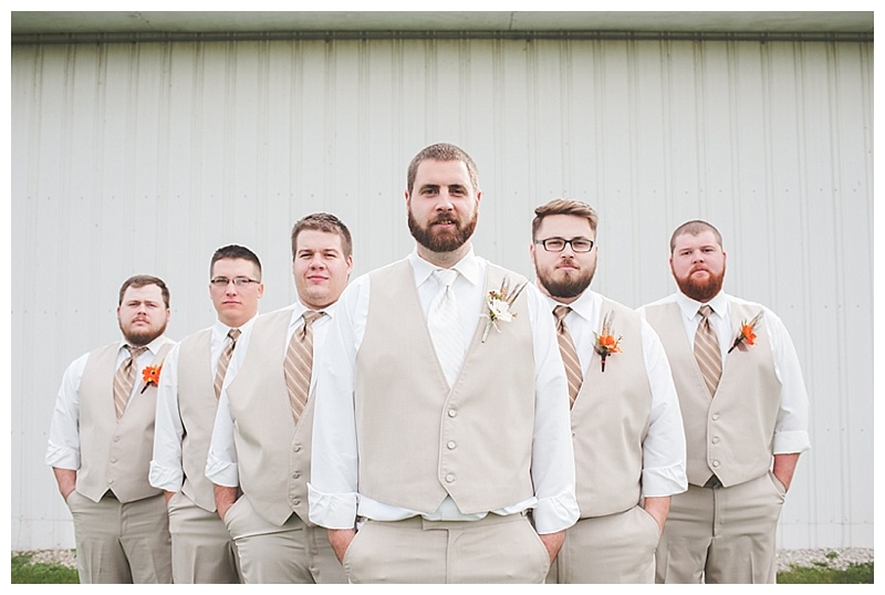 Rustic Fall Wedding With A Country Flair 016