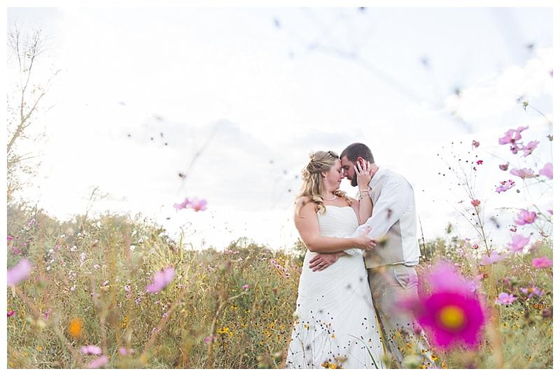 fall wedding couple photos
