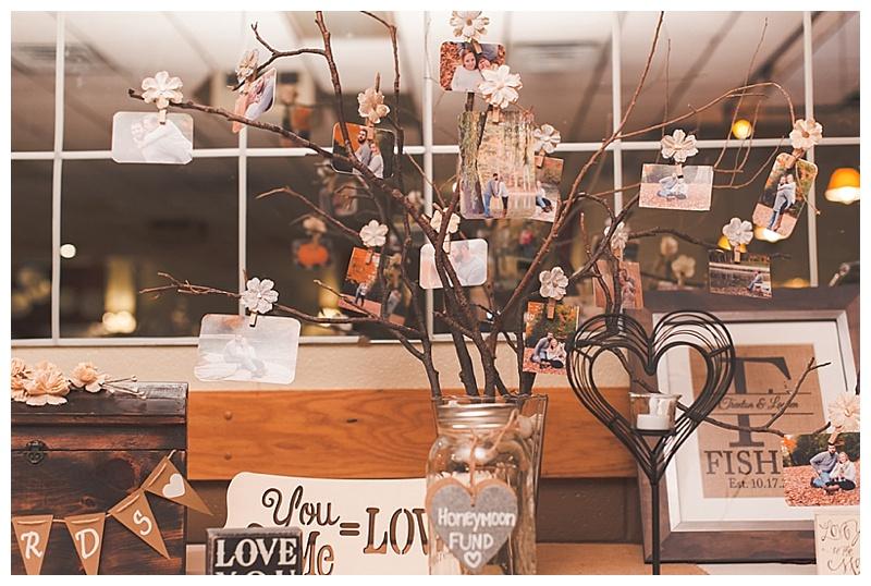 branches wedding decor