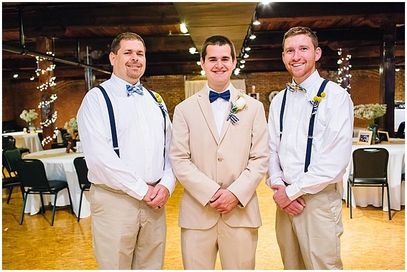 suspender groomsmen attire